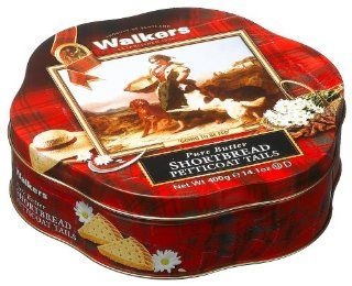 Walkers Shortbread Petticoat Tails, 14.1 Ounce Faithful Friends Tin : Grocery & Gourmet Food