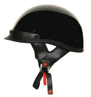 Lunatic, L 2000 13, Shorty Helmet   Gloss Black   Small Automotive