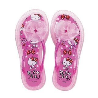 Hello Kitty clear beach sandals 18cm (japan import) Toys & Games