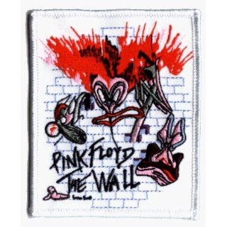 Pink Floyd The Wall Rock Roll Music Band Embroidered Iron On Patch Clothing