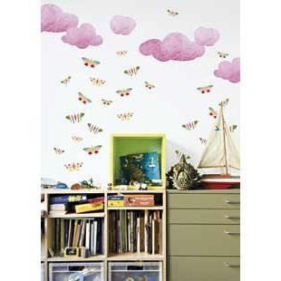 Butterfly Butterflies Wall Stickers Decoration   repositionable   Wall Borders