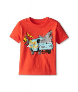 Quiksilver Kids Crash Course Tee Boys T Shirt (Red)