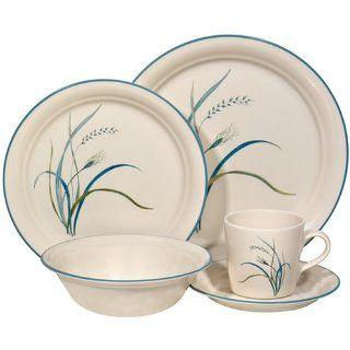 Corelle Impressions 20 Piece Dinnerware Set, Service for 4, Coastal Breeze Kitchen & Dining