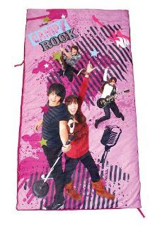 Disneys Camp Rock Sleeping Bag Girls Bedding Slumber Tote Bag: Toys & Games