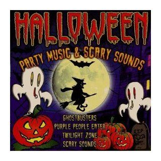 Halloween  Party Music & Scary Sounds [Ghostbusters, Purple People Eater, Monster Mash, Twilight Zone & Many More + 35 Min Of Scary Halloween Sounds] Music