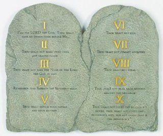 Shop Ten Commandments Step Stone   Stepping Stone at the  Home D�cor Store. Find the latest styles with the lowest prices from Spoontiques
