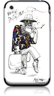 GelaSkins Dr Gonzo Protective Skin with Digital Wallpaper Downloads for iPhone 3G/3GS: Cell Phones & Accessories