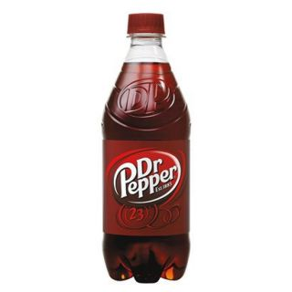 Dr. Pepper Soda 20 oz