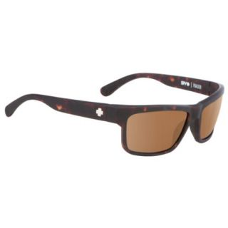 Spy Frazier Sunglasses   Matte Camo Tort Frame with Bronze Polarized Lens 788124