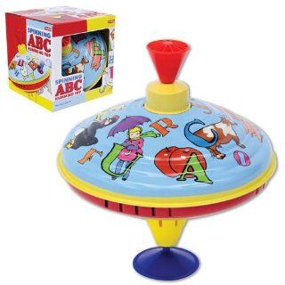 Schylling ABC Humming Top: Toys & Games