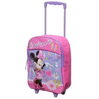 Disney   Mochila con ruedas para ni�os, dise�o de Minnie Mouse, 16 Disney Kids Rolling Backpacks