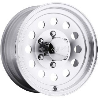 Ultra Type 62 Trailer 16 Machined Wheel / Rim 6x5.5 with a 0mm Offset and a 105 Hub Bore. Partnumber 062 6683K Automotive