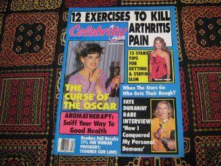 Celebrity Plus Magazine (Marlee Matlin, Brooke Shields, Faye Dunaway, Volume 3 Number 4): Selig Adler: Books