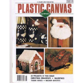 Plastic Canvas Corner   Premier Issue   Volume 1 Number 1: Leisure Arts: Books