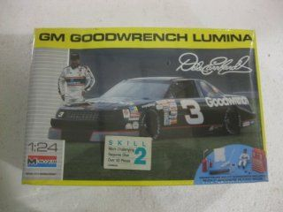 Monogram Dale Earnhardt #3 GM Goodwrench Lumina 1:24 Scale Model Kit Number 2927: Toys & Games