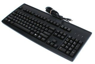 Cherry Black USB Keyboard with Smart Card Reader Model Number RS 6700