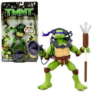 Playmates Year 2007 Teenage Mutant Ninja Turtles TMNT Movie Series 6 Inch Tall Action Figure   SURVEILLANCE DON with Listening Device and Bo Staff Toys & Games
