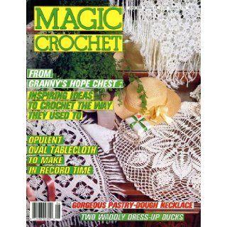 Magic Crochet, Number 54, June 1988 Pauline Rousset Books