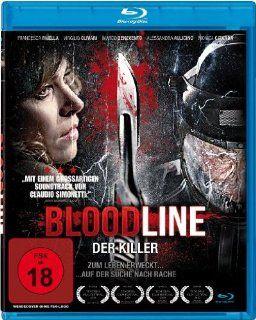 Bloodline   Der Killer [Blu Ray]: Francesca Faiella, Virgilio Olivari, Marco Benevento, Alessandra Aulicino, Monica Citarda, Valentina Del Rio, Edo Tagliavini: DVD & Blu ray