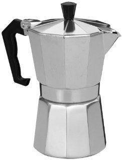 6 Tassen Alu Espressokocher Espressobereiter Kaffeebereiter Kaffeekocher: Küche & Haushalt
