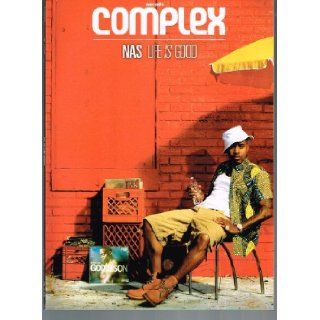 Complex Magazine (June/July 2012) Featuring Mary Elizabeth Winstead & Nas Marc Ecko Books