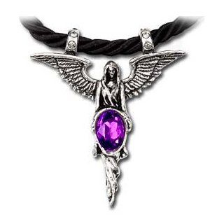 Angelicus Alchemy Gothic Angel Necklace: Jewelry