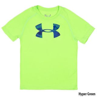 Under Armour Boys Future Camo Logo Short Sleeve Tee 758049