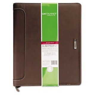 Day Runner Products   Day Runner   Harrison Organizer, Undated Weekly/Monthly Pages, 8 1/2 x 11, Brown   Sold As 1 Each   A contemporary, refined casual design with a soft touch.   Includes three months of undated weekly pages to start your quarterly plann