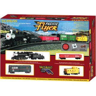 Bachmann HO Pacific Flyer Electric Train Set, Bachmann HO Scale Train Set, E Z Track Train Set, Bachmann Electric Train Set