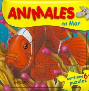 Animales del Mar   Contiene 6 Puzzles (Spanish Edition) Pioneer Group Ltd Market 9788445906798  Children's Books