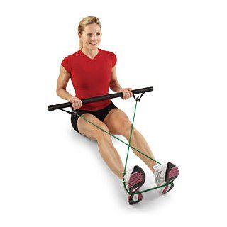 SPRI Xercise Bar Kit with 3 Xertubes  Weight Bars  Sports & Outdoors