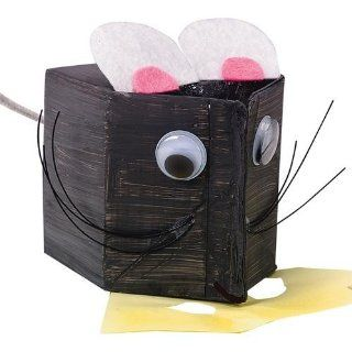 Milk Carton Mouse Craft Kit (Makes 12): Toys & Games