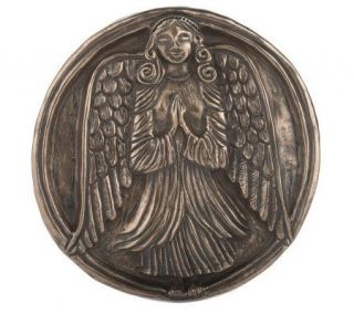 Wild Goose Circular Celtic Guardian Angel Wall Plaque —
