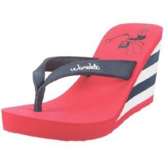 wandelei High Society Marine 219, Damen, Sandalen/Fashion Sandalen, Blau (Marine), EU 37: Schuhe & Handtaschen