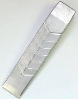 Alu F�llkeil 550g 220x45mm Spaltkeil Alu Forstkeil: .de: Baumarkt