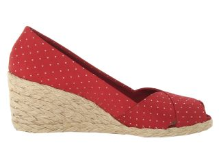 Lauren Ralph Lauren Cecilia Rl Bright Red Polka Dot