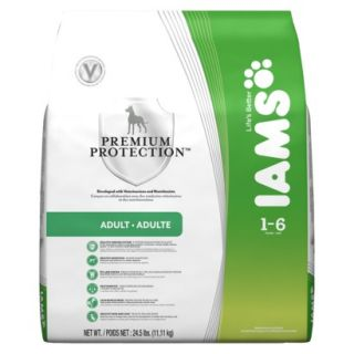 Iams Premium Protection Adult Dry Dog Food 24.5 lbs