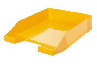 HAN 1027 X 15 Briefkorb C4 255x348x65 mm, Inh.2, gelb Kunststoff: Bürobedarf & Schreibwaren