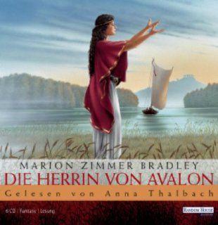 Die Herrin von Avalon Marion Zimmer Bradley, Anna Thalbach, Katharina Thalbach Bücher