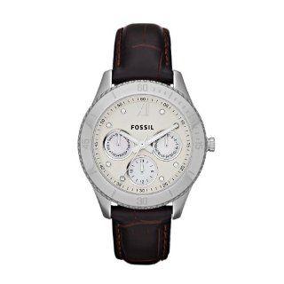 Fossil Damen Armbanduhr Analog Edelstahl ES3103: Uhren
