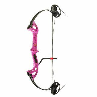 PSE 40 Pound Mini Burner Bow Package (Left Hand) : Compound Archery Bows : Sports & Outdoors