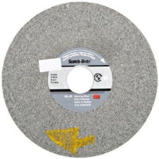 "Scotch Brite EXL XP Deburring Wheel, Silicon Carbide, 6000 rpm, 6"" Diameter, 1"" Arbor, 11S Fine Grit (Pack of 3) Abrasive Wheels Industrial & Scientific"