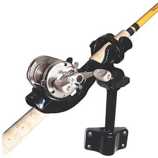 Truck rod holder hitch on popscreen for Hitch fishing rod holder