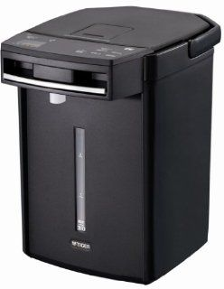 TIGER Pot Black 3.0L PIA A300 KS less electric thermos steam: Kitchen Products: Kitchen & Dining