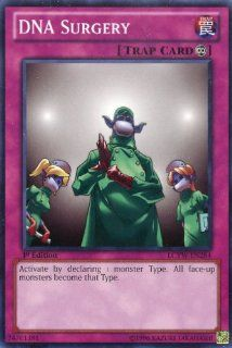 Yu Gi Oh   DNA Surgery (LCYW EN284)   Legendary Collection 3 Yugi's World   1st Edition   Common Toys & Games
