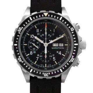 MARATHON WW194014 Men's Chronograph Pilot's Automatic Black Dial Watch at  Men's Watch store.
