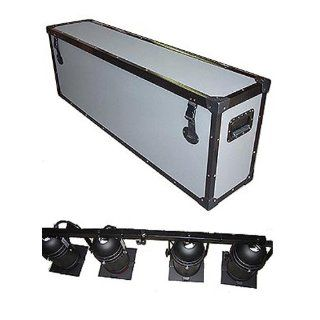 "Lighting 4 Par Cans on Truss Rod   1/4"" Medium Duty TuffBox Road Case   Large Size: Musical Instruments"