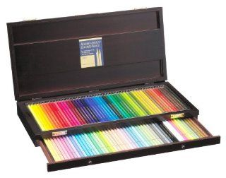 Holbein Artist Colored Pencil 100 Colors Set wooden box Toys & Games