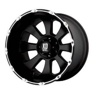 20x12 KMC XD Armour (Matte Black / Machined) Wheels/Rims 5x150 (XD79921258744N): Automotive