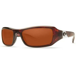 Costa Del Mar Santa Rosa Sunglasses   Tortoise Frame/Copper 580P Lens 729760